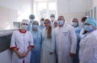 Тимошенко: про медиків треба дбати як про стратегічний ресурс країни