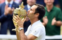 Федерер выиграл рекордный восьмой титул на Уимблдоне