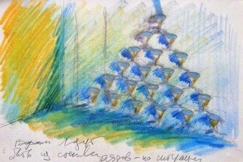 """Кураторы и МКИП презентовали проект Павла Макова """"Фонтан истощения"""", который будет представлять Украину на Венецианской биеннале"""