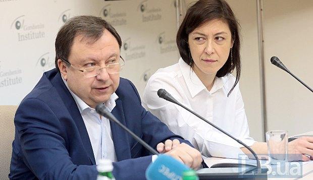 Микола Княжицький і Наталя Лібет