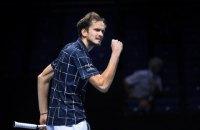 Данило Медведєв став переможцем Підсумкового турніру ATP (оновлено)