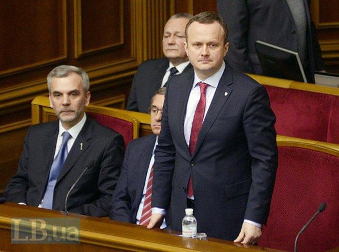 Остап Семерак (справа) и Олег Мусий