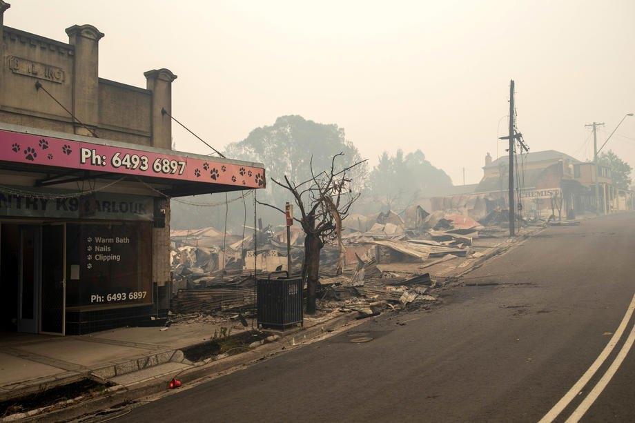 Кілька днів тому двоє людей загинули, намагаючись врятувати свій будинок від вогню, в селищі Кобарго в штаті Новий Південний Уельс