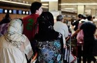 Трех мусульманок не пустили во Францию из-за паранджи