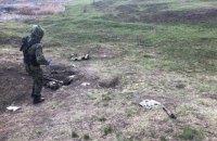 Военный погиб, восемь ранены из-за взрыва миномета на учебных стрельбах в Донецкой области