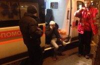 Французских фанатов избили из-за глумления над флагом Украины