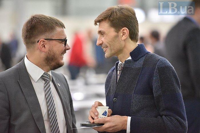Член ГРД Віталій Титич (справа) подавався в Касаційний кримінальний суд Верховного Суду