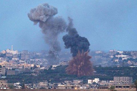 Ізраїльська авіація завдала ударів по позиціях ХАМАС у секторі Газа