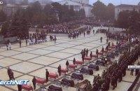 В Керчи прощаются с жертвами теракта в колледже