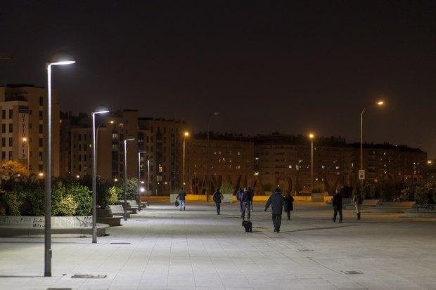 Нове освітлення в Мадриді