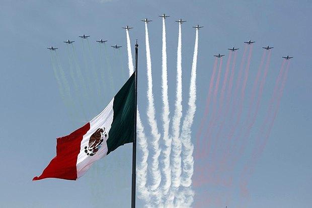 Святкування Незалежності Мексики, Мехіко,16 вересня 2017.