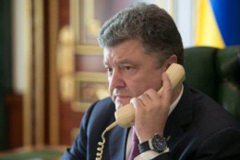 В АП рассказали о звонках Порошенко Путину