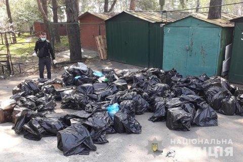 В Киеве и области разоблачили крупный наркокартель, организованный полицейскими