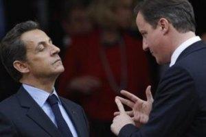 Кэмерон и Саркози прибыли в Ливию