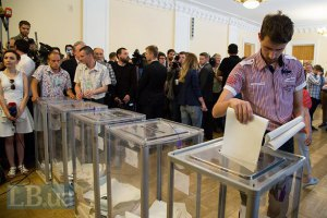 ЦВК почала оприлюднювати результати виборів