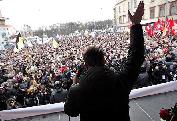 Митинг оппозиции в Москве
