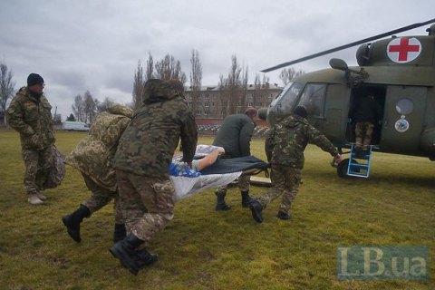 Бойовики поранили військового біля Пісків