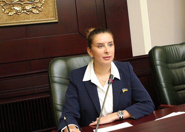 Ганна Старікова - новообрана голова Київоблради