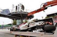 Пілот Ф1 знищив свій автомобіль на практиці в Італії