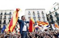 У Барселоні після шести днів акцій сепаратистів відбувся мітинг за єдину Іспанію