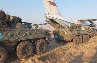 20 самолетов с российскими военными прибыли в Армению