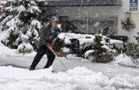 На Италию обрушились снегопады и сильные морозы