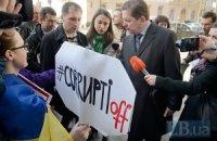 Под Верховной Радой прошли сразу несколько акций протеста
