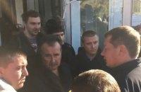 Главу Херсонской ОГА Гордеева не пустили на церемонию прощания с Гандзюк