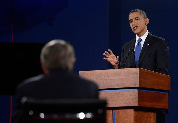 Выступление демократического кандидата в президенты Барака Обамы