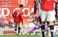"""Роналду забив у першому ж матчі після повернення в """"Манчестер Юнайтед"""" (оновлено)"""