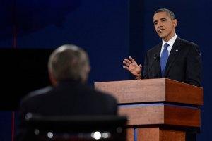 Обама переміг Ромні на других дебатах