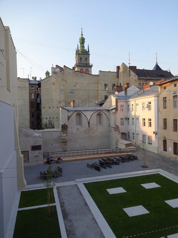 Реалізована перша черга проекту «Простір Синаг», проект: Franz Reschke Landschaftsarchitektur