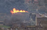 """""""Азов"""" заявив, що бойовики обстріляли житлові будинки в Широкиному"""