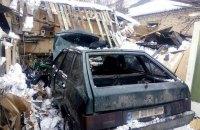 У Сумах через неполадки ГБО вибухнула машина з водієм