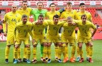 Сборная Украины переиграла в товарищеском матче команду Японии