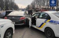 У Борисполі в гонитві за порушником травмувалися троє поліцейських (оновлено)
