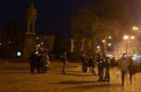 В Полтаве снесли памятник Ленину