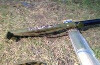 У жителя Авдеевки под дровами нашли гранатомет