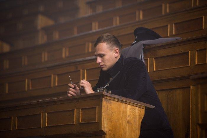 "Евгений Ламах, Кадр из фильма ""Круты 1918"""