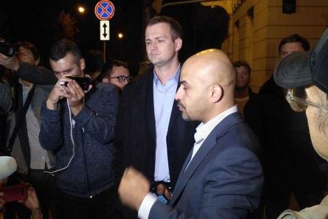 Найем, Залищук и Левченко пошли к Порошенко