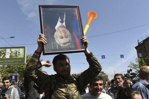 Усіх затриманих учасників протестів у Вірменії звільнено