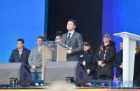 """Зеленський заявив, що """"армія, мова, віра"""" належать не тільки Порошенкові"""