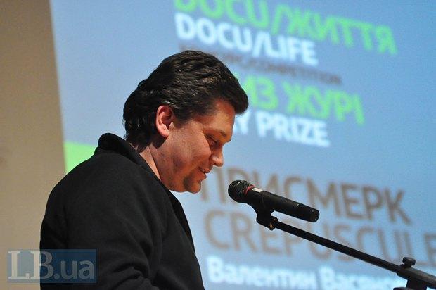 Валентин Васянович, режиссер фильма Закат, получившего специальную награду DOCU/Жизн