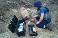 На проспекте Правды в Киеве нашли фугасную авиабомбу весом 250 кг