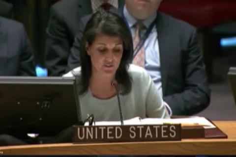 Постпред США вмеждународной Организации Объединенных Наций (ООН): лидер КНДР «напрашивается навойну»