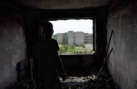 Штаб АТО показал последствия обстрела Красногоровки боевиками