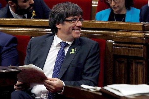 Парламент Каталонии проголосовал за независимость