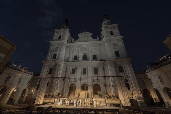 110-й фестиваль в Зальцбурге, который в этом году сократили из-за пандемии коронавируса