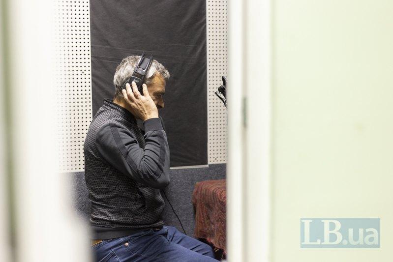 Ярослав Нудик у студії