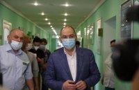 Степанов: З початку епідемії COVID-19 кількість ліжко-місць збільшено втричі
